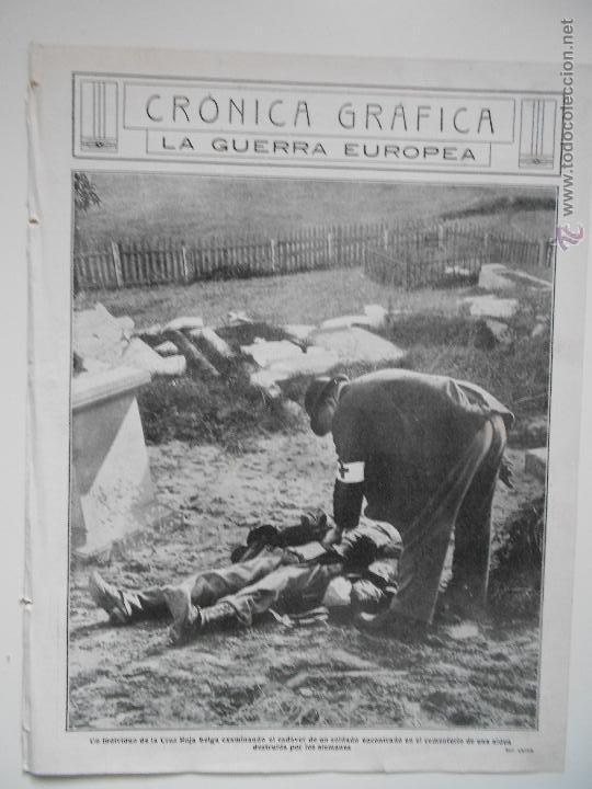 HLN- 1914- CRUZ ROJA BELGA (Coleccionismo - Revistas y Periódicos Antiguos (hasta 1.939))