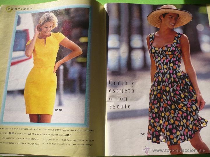 Revista burda vestidos de verano