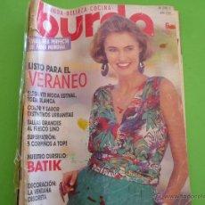Coleccionismo de Revistas y Periódicos: REVISTA ' BURDA ' JUNIO 1990. Lote 52783413