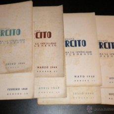 Coleccionismo de Revistas y Periódicos: REVISTA EJERCITO PARA LA OFICIALIDAD / AÑO 1946 COMPLETO /. Lote 52808263