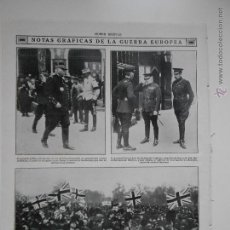 Coleccionismo de Revistas y Periódicos: HLN- 1914- GUERRA EUROPEA, BÉLGICA, LONDRES, MILITARES. Lote 52808597