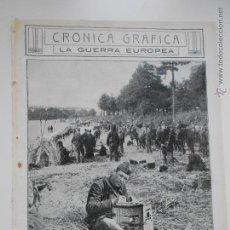 Coleccionismo de Revistas y Periódicos: HLN- 1914- LA GUERRA EUROPEA, SOLDADOS BELGAS EN AMBERES. Lote 52811544