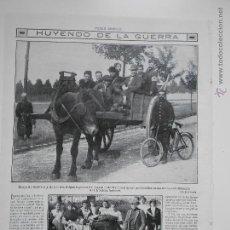 Coleccionismo de Revistas y Periódicos: HLN- 1914- HUIDA DE LA GUERRA, HERIDOS BELGAS. Lote 52851567