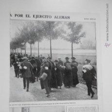Coleccionismo de Revistas y Periódicos: HLN- 1914- INVASIÓN ALEMANA DE BÉLGICA, BRUSELAS, CRUZ ROJA. Lote 52851603