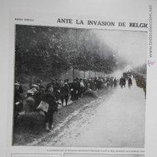 Coleccionismo de Revistas y Periódicos: HLN- 1914- INVASIÓN ALEMANA DE BÉLGICA, BRUSELAS, CRUZ ROJA. Lote 52851607
