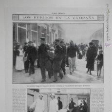 Coleccionismo de Revistas y Periódicos: HLN- 1914- HERIDOS EN CAMPAÑA, HERIDOS BELGAS. Lote 52851633