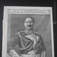 Collezionismo di Riviste e Giornali: HLN- 1914- KAISER GUILLERMO II ALEMANIA. Lote 52873633
