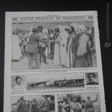 Coleccionismo de Revistas y Periódicos: HLN- 1914- MARRUECOS, CONDE ROMANONES, MILITARES. Lote 84911202