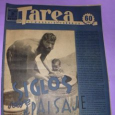 Coleccionismo de Revistas y Periódicos: TAREA. SEMANARIO DEL TRABAJO. 21 FEBRERO DE 1942. AÑO III. NUMERO 68. (DIVISIÓN AZUL,ASIA MALTA, ..). Lote 52889355