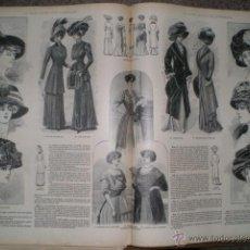 Coleccionismo de Revistas y Periódicos: LA MODA ELEGANTE. AÑO 1909, TOMOS LXIX Y LXX. Lote 52890143