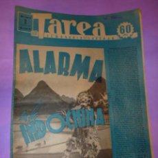 Coleccionismo de Revistas y Periódicos: TAREA. SEMANARIO DEL TRABAJO. 2 AGOSTO 1941. AÑO II. NUMERO 39.. Lote 52891786