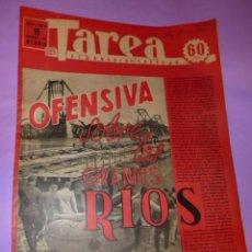 Coleccionismo de Revistas y Periódicos: TAREA. SEMANARIO DEL TRABAJO. 15 NOVIEMBRE 1941. AÑO II. NUMERO 54.(SUPLEMENTO DE LA DIVISIÓN AZUL). Lote 52891882
