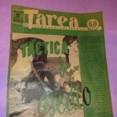 Coleccionismo de Revistas y Periódicos: TAREA. SEMANARIO DEL TRABAJO. 22 NOVIEMBRE 1941. AÑO II. NUMERO 55.(SUPLEMENTO DE LA DIVISIÓN AZUL). Lote 52891891