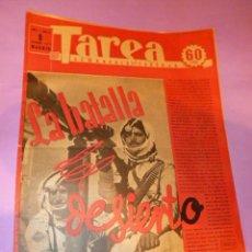 Coleccionismo de Revistas y Periódicos: TAREA. SEMANARIO DEL TRABAJO. 6 DICIEMBRE 1941. AÑO II. NUMERO 57.(SUPLEMENTO DE LA DIVISIÓN AZUL). Lote 52891915