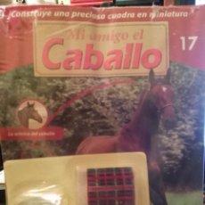 Coleccionismo de Revistas y Periódicos: COLECCIÓN CONSTRUYE UNA PRECIOSA CUADRA EN MINIATURA MI AMIGO EL CABALLO,N17. Lote 52905327