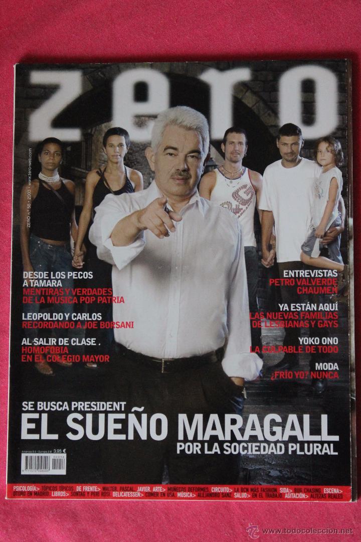 REVISTA ZERO N 56 - 2003 PASCUAL MARAGALL (Coleccionismo - Revistas y Periódicos Modernos (a partir de 1.940) - Otros)