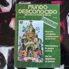 Coleccionismo de Revistas y Periódicos: MUNDO DESCONOCIDO - Nº 53 - 5º AÑO - 1980. Lote 53143608
