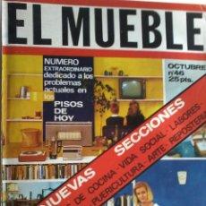 Coleccionismo de Revistas y Periódicos: REVISTA EL MUEBLE Nº 46 OCTUBRE 1965. Lote 53156978