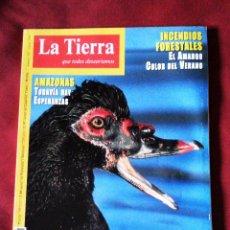 Coleccionismo de Revistas y Periódicos: REVISTA LA TIERRA QUE TODOS DESEARÍAMOS Nº 38 JUNIO 2001 - FUNGESMA. Lote 53173572