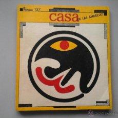 Coleccionismo de Revistas y Periódicos: CASA DE LAS AMÉRICAS. Nº 137. MARZO / ABRIL 1983. GABRIEL GARCÍA MÁRQUEZ, JOSÉ LEZAMA LIMA,C.VITIER.. Lote 53199971