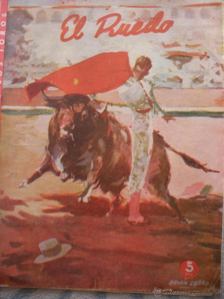 Coleccionismo de Revistas y Periódicos: LOTE de DIEZ REVISTAS EL RUEDO - Foto 2 - 53234914