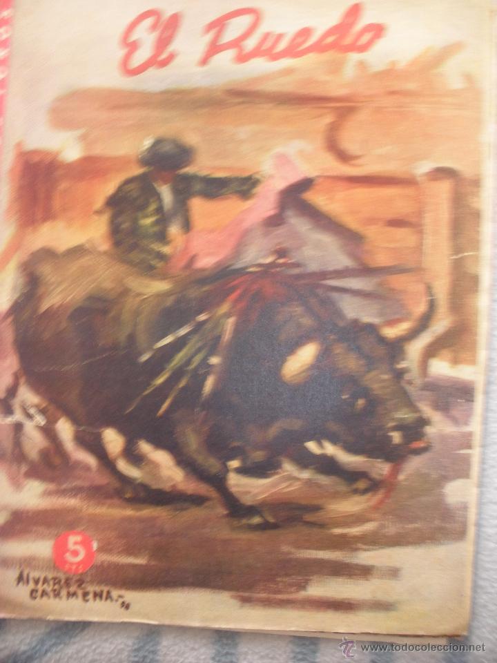 Coleccionismo de Revistas y Periódicos: LOTE de DIEZ REVISTAS EL RUEDO - Foto 3 - 53234914