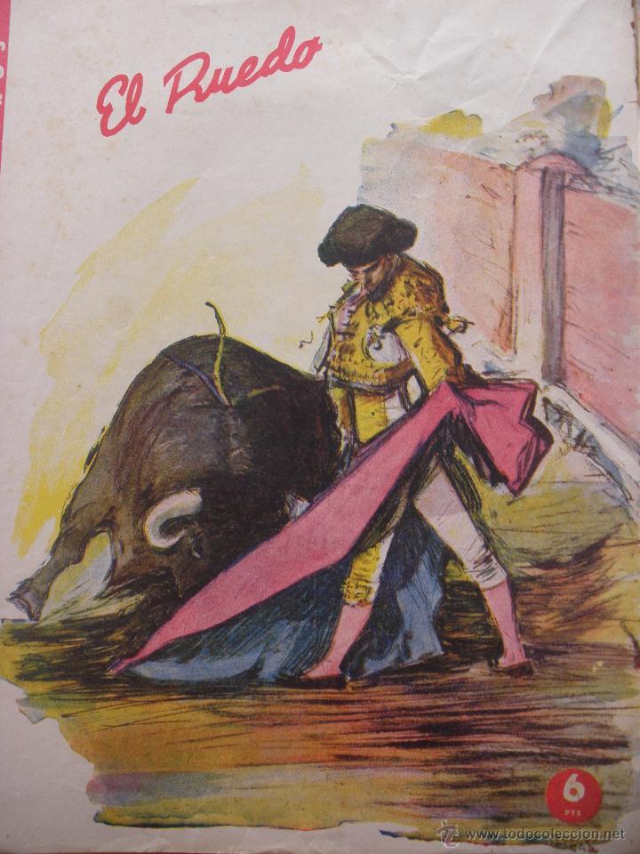 Coleccionismo de Revistas y Periódicos: LOTE de DIEZ REVISTAS EL RUEDO - Foto 4 - 53234914