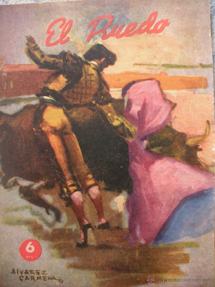 Coleccionismo de Revistas y Periódicos: LOTE de DIEZ REVISTAS EL RUEDO - Foto 6 - 53234914