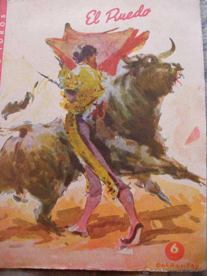 Coleccionismo de Revistas y Periódicos: LOTE de DIEZ REVISTAS EL RUEDO - Foto 7 - 53234914