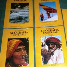 Coleccionismo de Revistas y Periódicos: REVISTA DE GEOGRAFÍA UNIVERSAL - VOLUMEN 2 - NÚMS 1, 2, 4, Y 5 - AÑO 1977. Lote 52454992