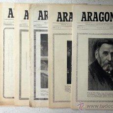 Coleccionismo de Revistas y Periódicos: 7 NÚMS. ´ARAGONESES´. ORGANO DEL CENTRO ARAGONÉS D MADRID. 1951-1953. ZARAGOZA MADRID. ARTIC. FOTOS. Lote 53269547