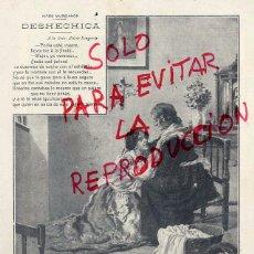 Coleccionismo de Revistas y Periódicos: MARTINEZ ABADES 1904 ILUSTRACION ARTICULO HOJA REVISTA. Lote 53347425