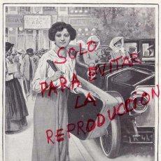 Coleccionismo de Revistas y Periódicos: MENDEZ BRINGA 1915 ILUSTRACION HOJA REVISTA. Lote 53352842