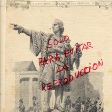 Coleccionismo de Revistas y Periódicos: COLON 1888 BARCELONA MONUMENTO HOJA REVISTA. Lote 53353406