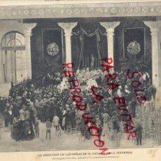 Coleccionismo de Revistas y Periódicos: BARCELONA 1888 BENDICION PALACIO DE INDUSTRIA EXPOSICION UNIVERSAL HOJA REVISTA. Lote 53353645