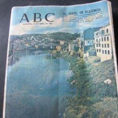 Coleccionismo de Revistas y Periódicos: PERIODICO DIARIO ABC. 16 DE ABRIL 1967. PLASENCIA. EL JERTE.. Lote 53362259