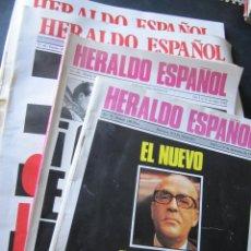Coleccionismo de Revistas y Periódicos: LOTE 4 REVISTAS HERALDO ESPAÑOL. Lote 53379443