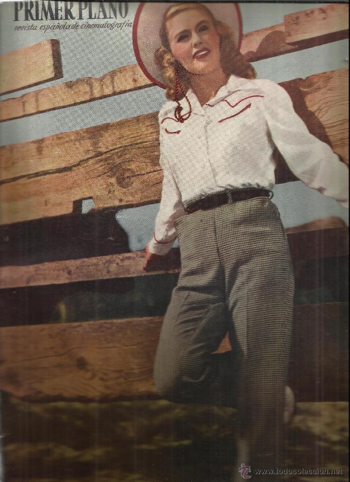 REVISTA PRIMER PLANO. ABRIL 1949. Nº 443 . JANE WYMAN. OLIVIA DE HAVILLAND. DOROTHY PATRICK (Coleccionismo - Revistas y Periódicos Modernos (a partir de 1.940) - Otros)