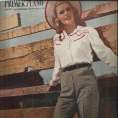 Coleccionismo de Revistas y Periódicos: REVISTA PRIMER PLANO. ABRIL 1949. Nº 443 . JANE WYMAN. OLIVIA DE HAVILLAND. DOROTHY PATRICK. Lote 53445175