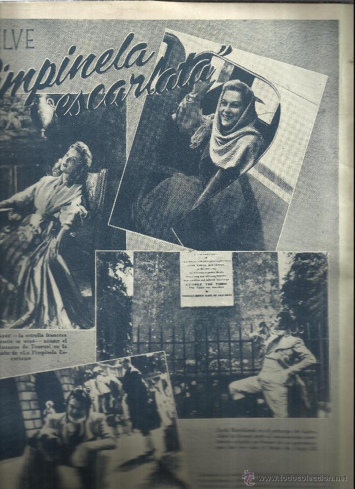 Coleccionismo de Revistas y Periódicos: REVISTA PRIMER PLANO. ABRIL 1949. Nº 443 . JANE WYMAN. OLIVIA DE HAVILLAND. DOROTHY PATRICK - Foto 2 - 53445175