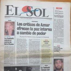 Coleccionismo de Revistas y Periódicos: EL SOL Nº 1 DIARIO. Lote 53451357