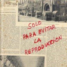Coleccionismo de Revistas y Periódicos: EXPOSICION UNIVERSAL 1888 BARCELONA STANDS ESPAÑOLES HOJA REVISTA. Lote 53453899