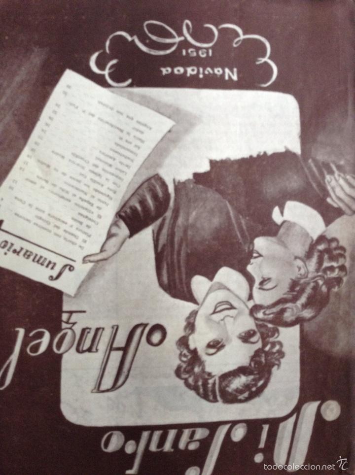 Coleccionismo de Revistas y Periódicos: Revista trimestral Mi santo Ángel - Foto 2 - 53457597
