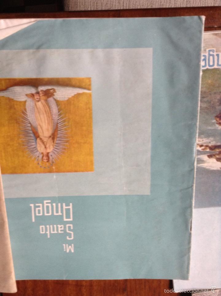 Coleccionismo de Revistas y Periódicos: Revista trimestral Mi santo Ángel - Foto 17 - 53457597