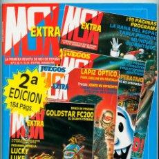 Coleccionismo de Revistas y Periódicos: REVISTA MSX EXTRA - NºS. 9-10-11-12-13 - 1985 - HARDWARE PROGRAMAS TRUCOS JUEGOS LENGUAJE MÁQUINA. Lote 53467657