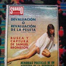 Coleccionismo de Revistas y Periódicos: REVISTA SABADO GRAFICO 1973 / PORTADA DE MARISOL / PEPA FLORES. Lote 53470618