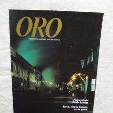 Coleccionismo de Revistas y Periódicos: REVISTA ORO Nº 33 MARZO 1996. Lote 53517555