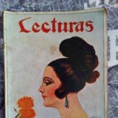 Coleccionismo de Revistas y Periódicos: LOTE DOS REVISTAS LECTURAS DE 1924. Lote 53523012
