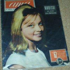 Coleccionismo de Revistas y Periódicos: REVISTA AMA Nº 62 AGOSTO 1962- MARISOL CUENTA SUS PROYECTOS-2 PG.6 FOTOS BUENISIMAS -LEER ENVIOS. Lote 53546965