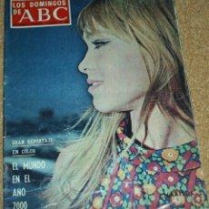 Coleccionismo de Revistas y Periódicos: LOS DOMINGOS DE ABC 11-8-68 - MARISOL, REPORTAJE DE 5 PG.Y 8 FOTOS- LE FUÉ ARRANCADA ALGUNA HOJA. Lote 53547106